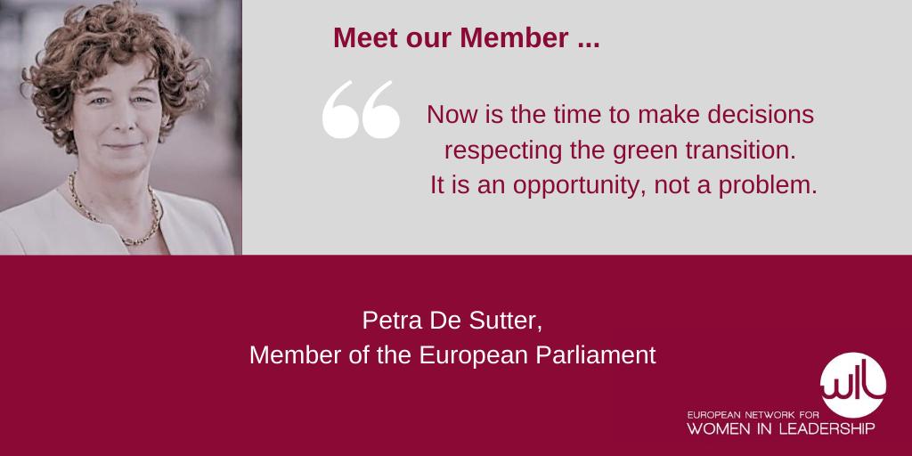 WIL Europe Petra De Sutter Member Of The European Parliament